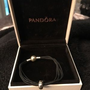 Pandora bracelet with star charm